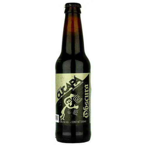 Cucapa Obscura American Brown Ale (B/B Date 11/02/19)