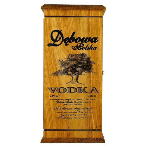 Debowa Vodka In Wooden Box