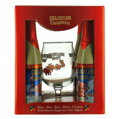 Delirium Noel Gift Pack (4x33cl + 1 Glass)