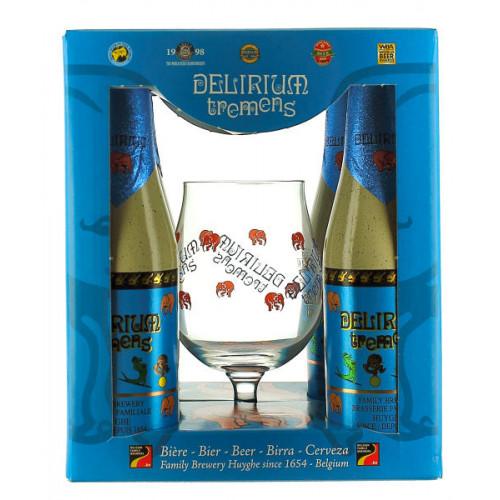 Delirium Tremens Gift Pack (4x33cl + 1 Glass)