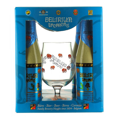 Delirium Tremens Gift Pack (4x33cl + 1 Glass)