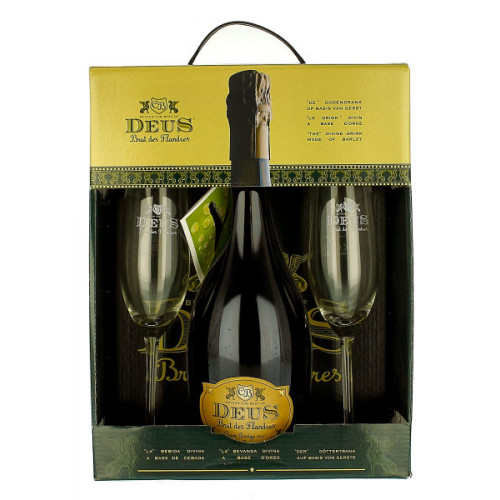 Deus Gift Pack (1x75cl + 2 Glasses)