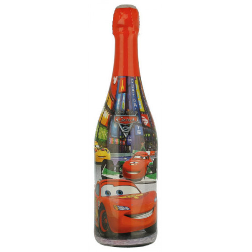 Disney Pixar Cars 2 Sparkling Strawberry Non Alcoholic Party Drink