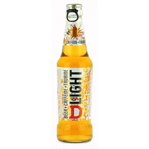 DLight Beer and Caffeine and Taurine