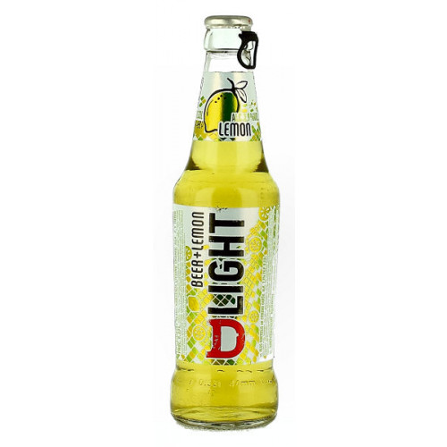 DLight Beer and Lemon