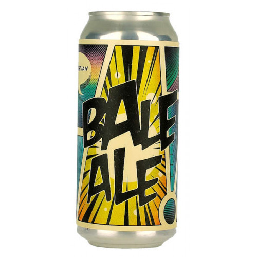 Dry and Bitter Christian Bale Ale Can