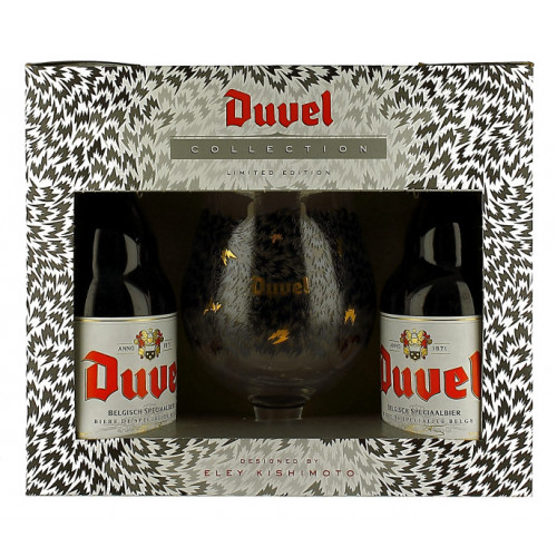 Duvel Kishimoto Gift Pack (2x33cl + 1 Glass)
