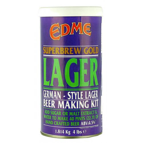 Edme Superbrew Lager Home Brew Kit