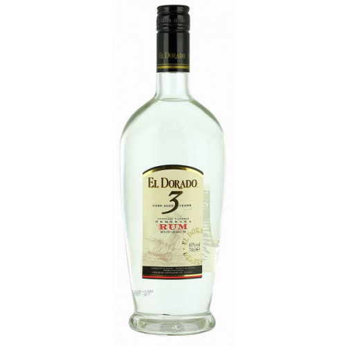 El Dorado 3 Year Old White Rum