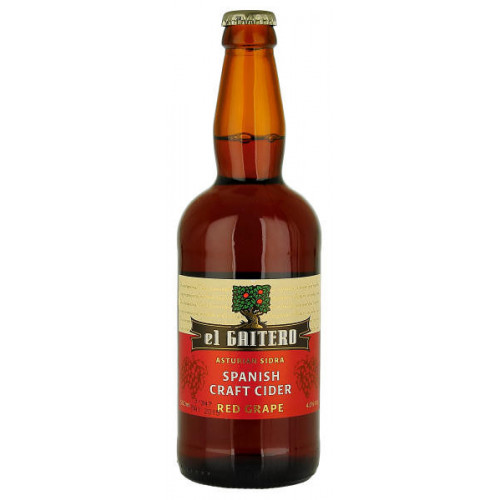 El Gaitero Red Grape Cider