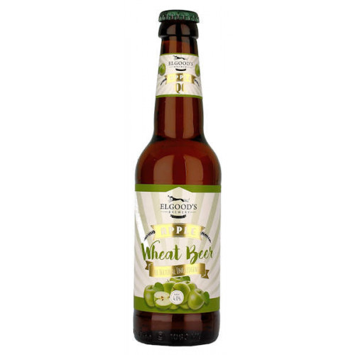 Elgoods QE Apple and Vanilla Wheat Beer