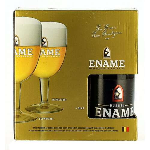 Ename Gift Pack (3x33cl + 1 Glass)