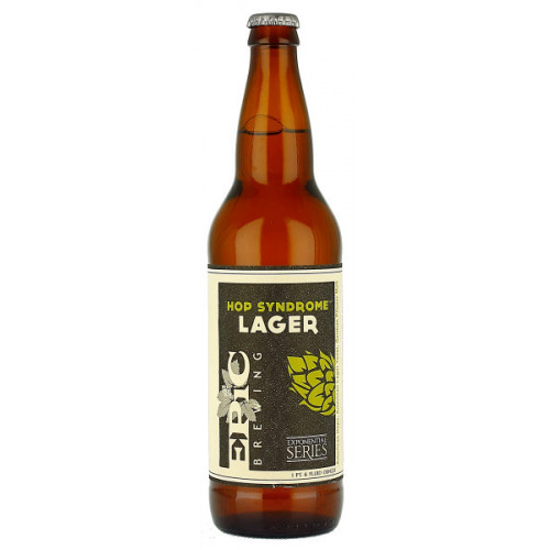Epic Brewing Hop Syndrome Lager