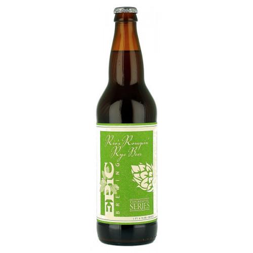 Epic Brewing Rios Rompin Rye Beer