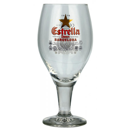 Estrella Dam Goblet Glass (330ml)