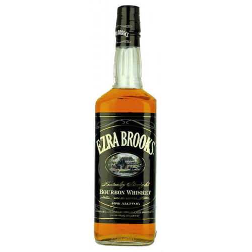 Ezra Brooks Bourbon Whiskey