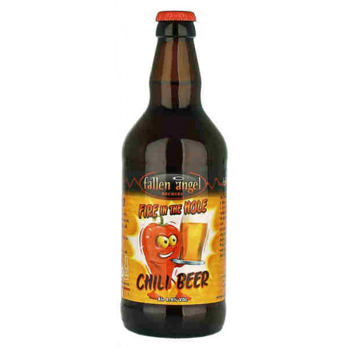 Fallen Angel Fire in the Hole Chili Beer