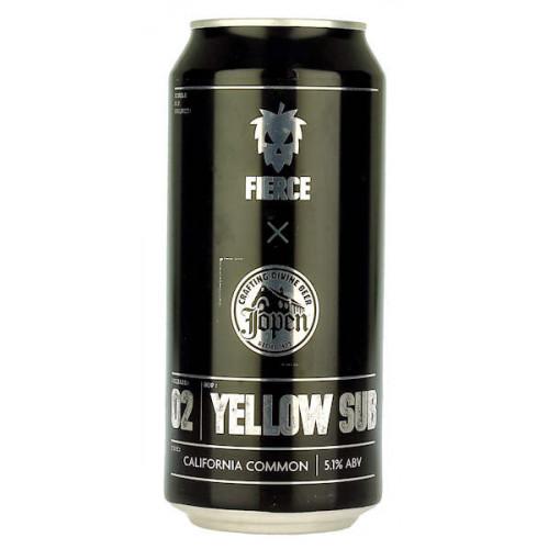 Fierce Beer/Jopen Single Hop Project 02 Yellow Sub Can