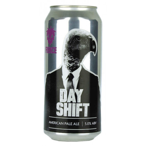 Fierce Beer Day Shift Can
