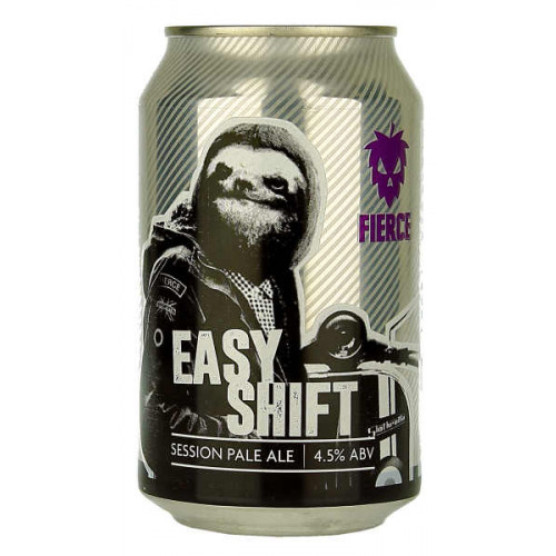 Fierce Beer Easy Shift Can