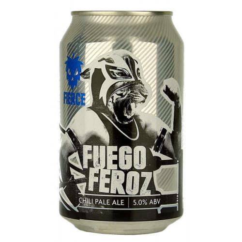 Fierce Beer Fuego Feroz Can