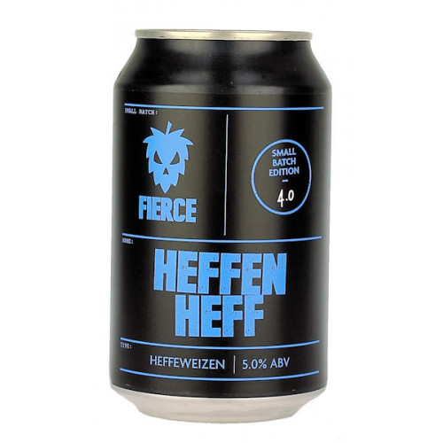 Fierce Beer Heffen Heff Can (B/B Date 20/09/19)