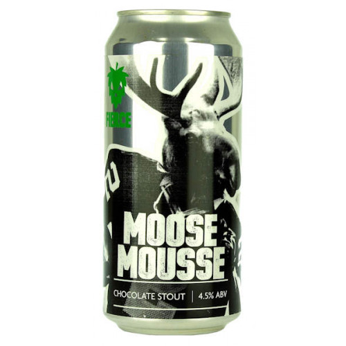 Fierce Beer Moose Mousse Can