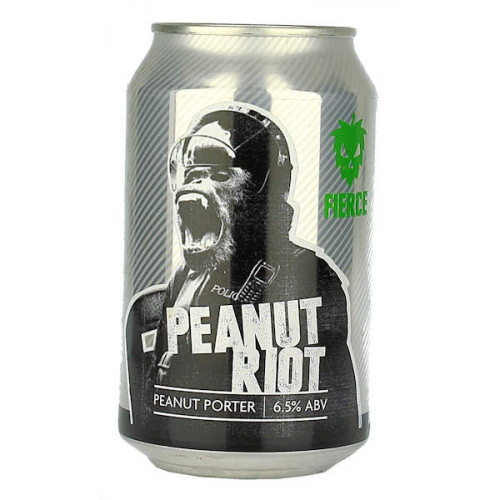 Fierce Beer Peanut Riot Can