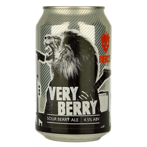 Fierce Beer Very Berry Can