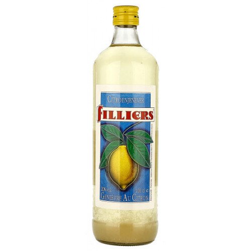 Filliers Lemon Jenever 1 Litre