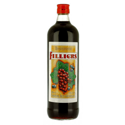 Filliers Groseilles (Red/Blackcurrant) 1 Litre