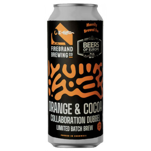 Firebrand Beers of Europe Orange and Cocoa Collaboration Dubbel