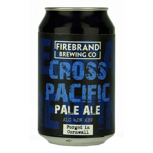 Firebrand Cross Pacific Pale Ale Can (B/B Date End 09/19)