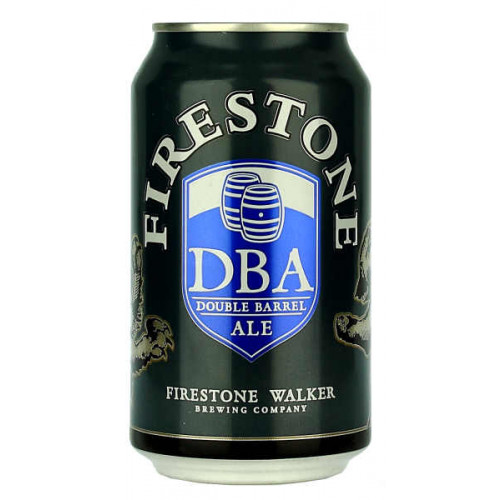 Firestone Walker Double Barrel Ale (DBA) Can