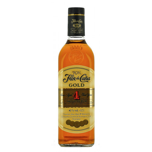 Flor de Cana 4 Year Old Gold
