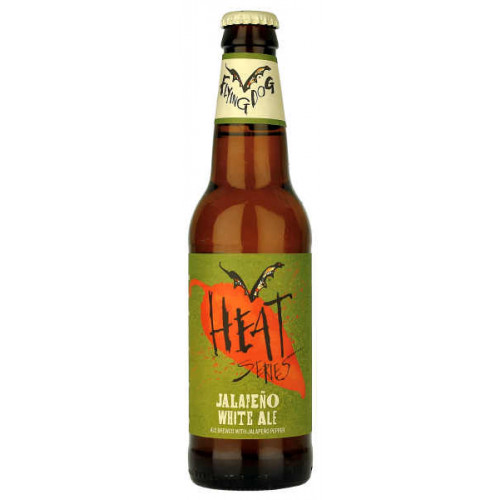 Flying Dog Heat Series Jalapeno White Ale