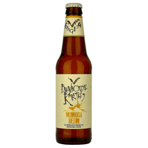 Flying Dog Brewhouse Rarities Mimosa Beer (B/B Date 12/03/19)