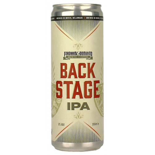 Fordham Brewing Back Stage IPA Can