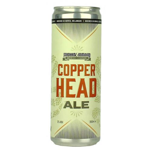 Fordham Brewing Copperhead Can