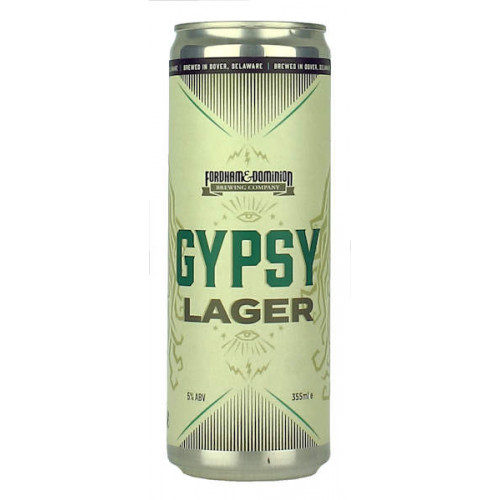 Fordham Brewing Gypsy Lager Can