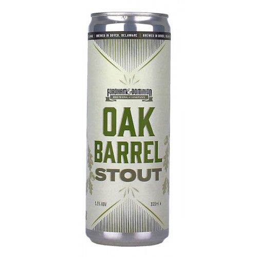 Fordham Brewing Oak Barrel Stout Can