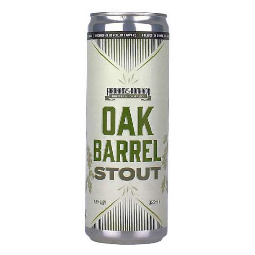 Fordham Brewing Oak Barrel Stout Can