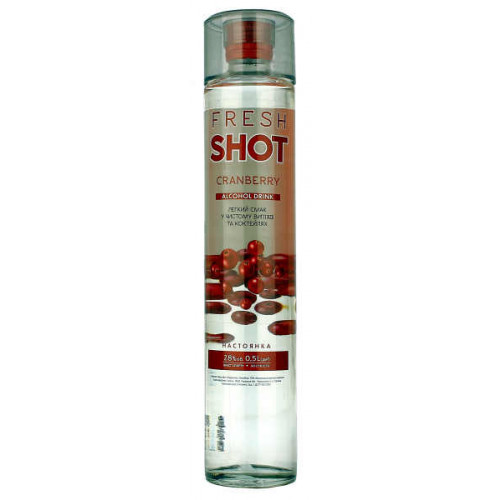 Fresh Shot Cranberry