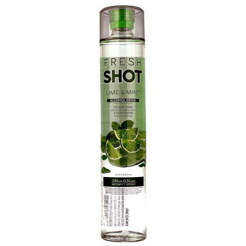 Fresh Shot Lime and Mint