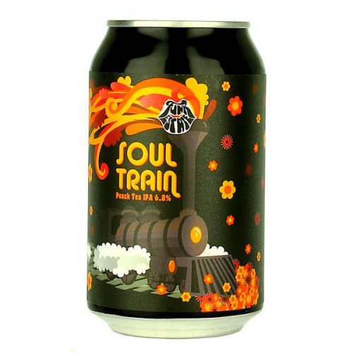 Funk Estate Soul Train Peach Tree IPA Can