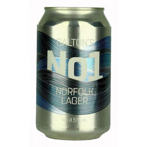 Galton's No1 Norfolk Lager Can