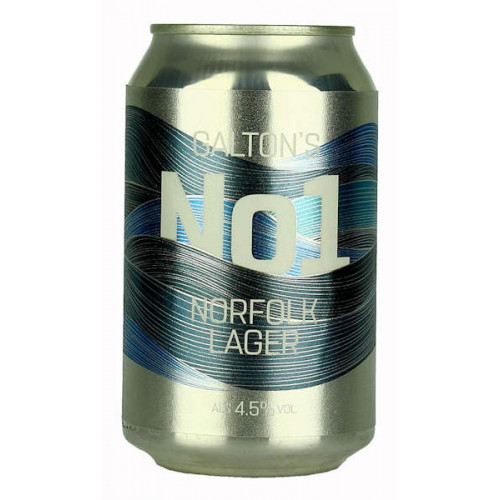 Galton's No1 Norfolk Lager Can