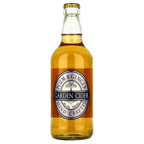 Garden Cider Plum and Ginger