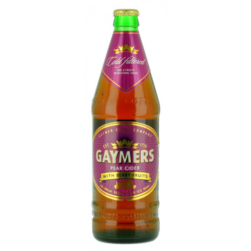 Gaymers Pear with Berry Fruits 568ml
