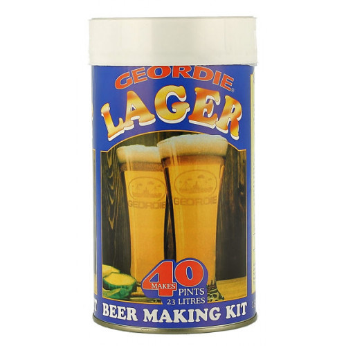 Geordie Lager Home Brew Kit